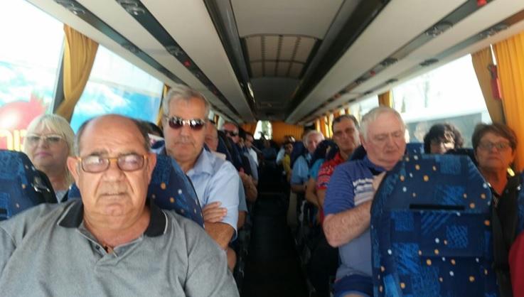 תמונות מסיור חברי המחוז בתל אביב